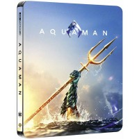 Аквамен (4K ULTRA HD Blu-ray + Blu-ray) Steelbook