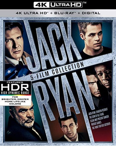 Джек Райан Коллекция  (5 4K UHD Blu-ray )