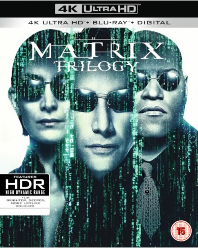 Матрица Трилогия (3 4K ULTRA HD Blu-ray)
