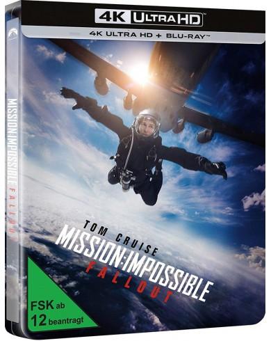 Миссия невыполнима: Последствия (4K Ultra HD Blu-ray) Steelbook