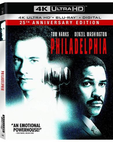 Филадельфия (4K ULTRA HD Blu-ray)