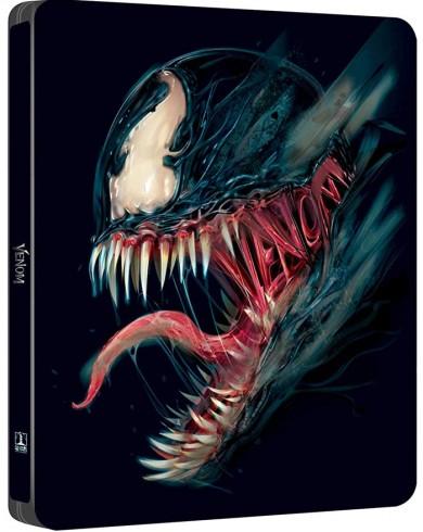 Веном (2 Blu-ray) Steelbook
