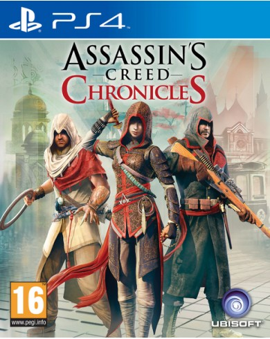 Assassins Creed: Chronicles Pack (PS4)