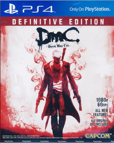 DmC Devil May Cry. Definitive Edition (PS4)