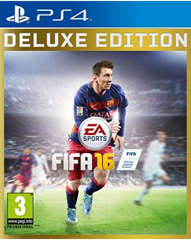 FIFA 16: Delux Edition (PS4)