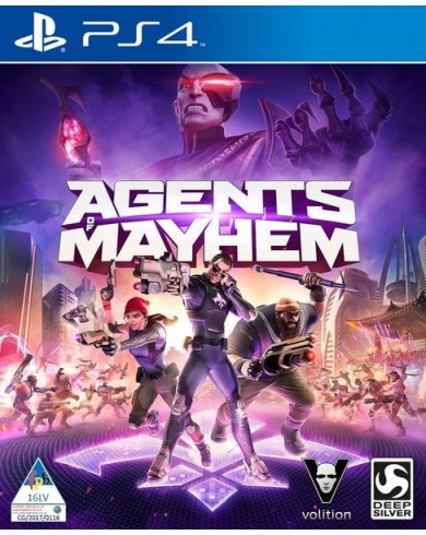 Agents of Mayhem (PS4, русские субтитры)