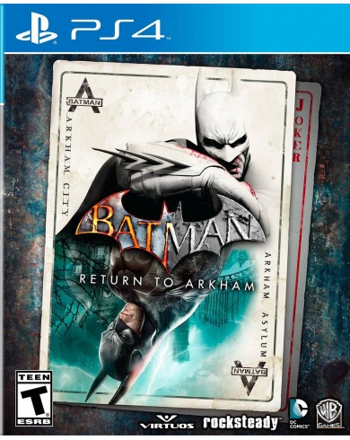 Batman: Return to Arkham Remastered Collection (PS4)