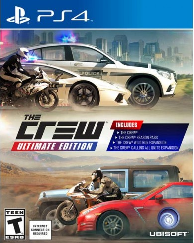 The Crew: Ultimate Edition (PS4, русская версия)