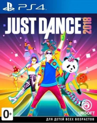 Just Dance 2018 (PS4, русская версия)
