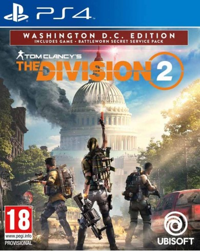 Tom Clancy's The Division 2. Washington, D.C. Edition (PS4, русская версия)