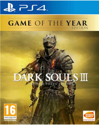 Dark Souls III Game of the Year Edition (PS4, русские субтитры)