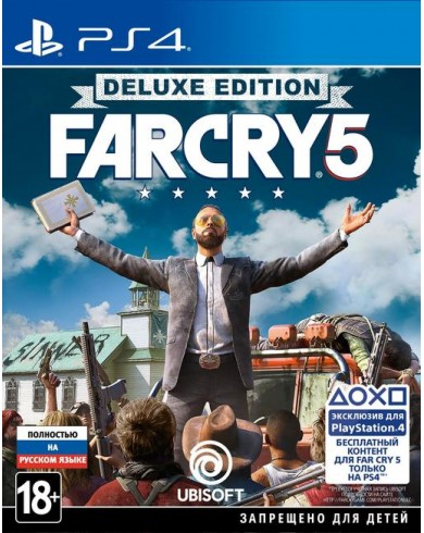 Far Cry 5 Deluxe Edition (PS4, русская версия)