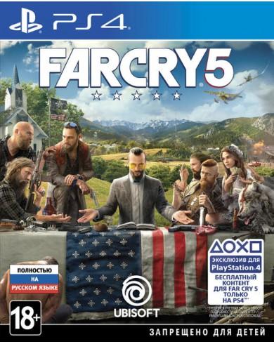Far Cry 5 (PS4, русский язык)