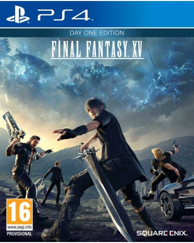 Final Fantasy XV (PS4) Day one edition (русские субтитры)