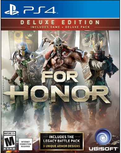 For Honor. Deluxe Edition (PS4, русская версия)