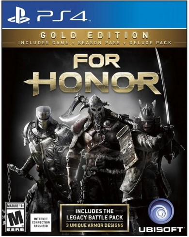 For Honor. Gold Edition (PS4, русская версия)