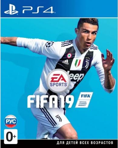 FIFA 19 (PS4, русская версия)