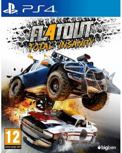 FlatOut 4 Total Insanity (PS4, русские субтитры)