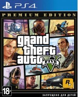 Grand Theft Auto 5 (GTA 5) Premium edition PS4