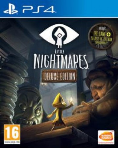 Little Nightmares Deluxe Edition (PS4, русские субтитры)