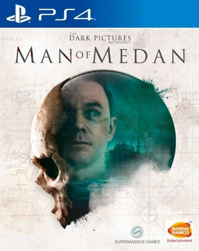 The Dark Pictures Man of Medan (PS4, Русская версия)