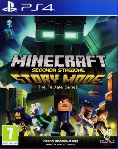 Minecraft Story Mode Season 2 (PS 4, Русские субтитры)