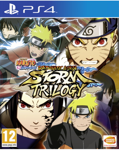 Naruto Shippuden Ultimate Ninja Storm Trilogy (PS4)