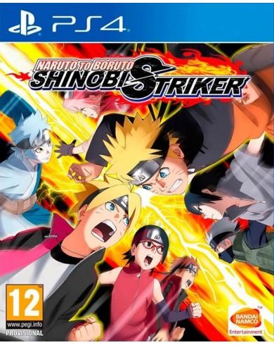 Naruto to Boruto Shinobi Striker (PS4, русские субтитры)