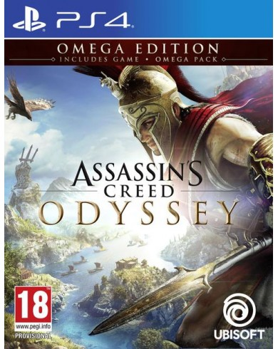 Assassins Creed: Одиссея. Omega Edition (PS4, русская версия)