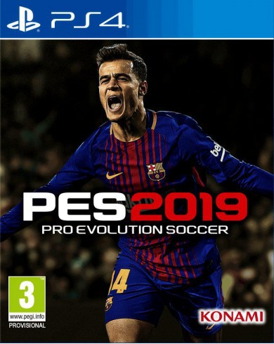 Pro Evolution Soccer 2019 (PS4, русские субтитры)