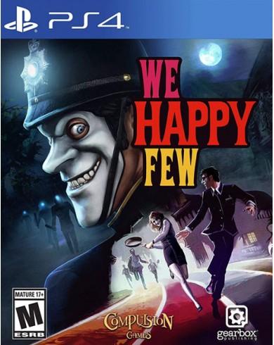 We Happy Few (PS4, русские субтитры)