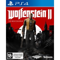 Wolfenstein II: The New Colossus (PS4, русская версия)