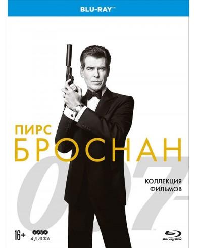 007 Пирс Броснан Коллекция фильмов (4 Blu-ray)