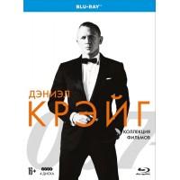 007 Дэниэл Крэйг Коллекция фильмов (4 Blu-ray)