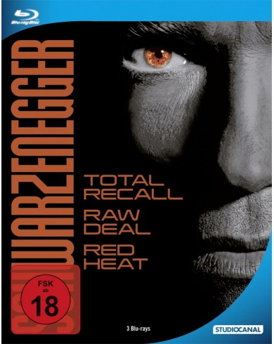 Вспомнить все / Красная жара / Без компромиссов  (3 Blu-ray) Steelbook