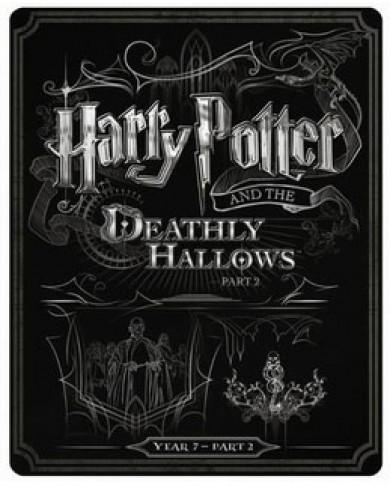 Гарри Поттер и Дары смерти: Часть 2 Steelbook (англ. язык) (Blu-ray)