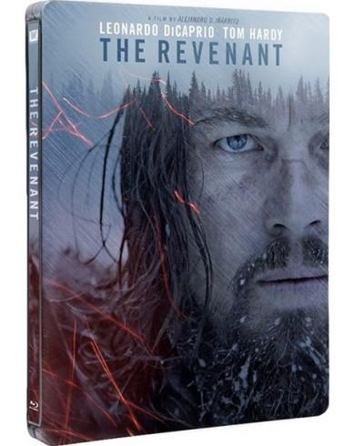 Выживший Steelbook (Легенда Хью Гласса) (Blu-ray)