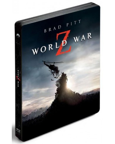 Война миров Z 3D Steelbook (3D Blu-ray + Blu-ray)