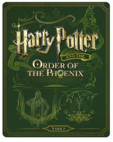 Гарри Поттер и Орден Феникса Steelbook (Blu-ray)
