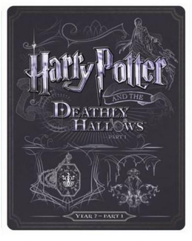 Гарри Поттер и дары смерти: часть 1 Steelbook (англ. язык) (Blu-ray)