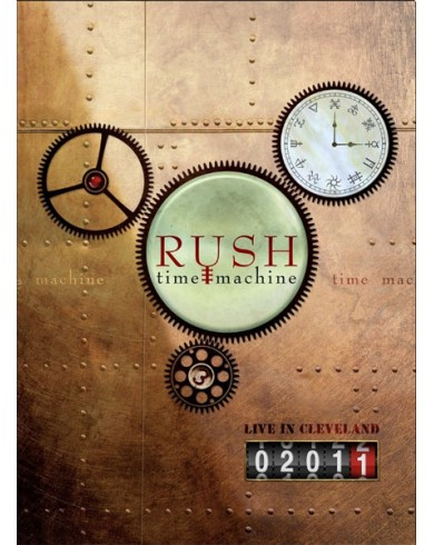 Rush: Time Machine, Live In Cleveland (Blu-ray)