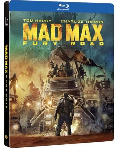 Безумный Макс: Дорога ярости Steelbook (3D Blu-ray + Blu-ray)