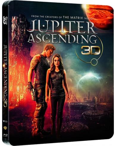 Восхождение Юпитер 3D Steelbook (3D Blu-ray + Blu-ray)