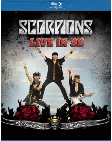 Scorpions: Get Your Sting and Blackout Live in 3D  (3D Blu-ray)