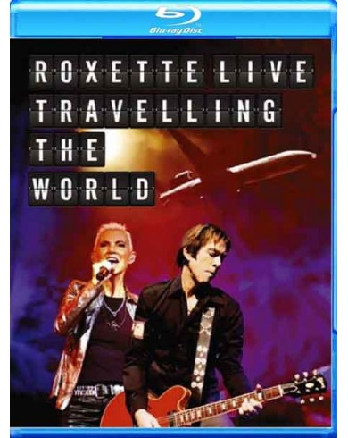 Roxette: Live - Travelling the World ( Blu-ray + cd)