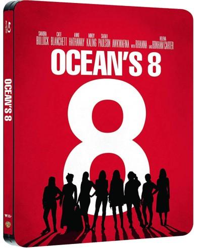 8 подруг Оушена (Blu-ray) Steelbook