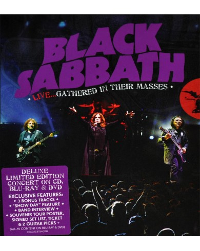 Black Sabbath Live...Gathered In Their Masses (Blu-ray + 2 DVD + CD)