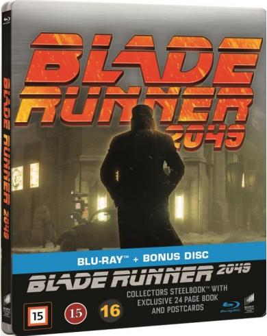 Бегущий по лезвию 2049 Steelbook (2 Blu-ray буклет и карточки)