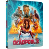 Дэдпул 2 Limited Steelbook  (2 Blu-ray)
