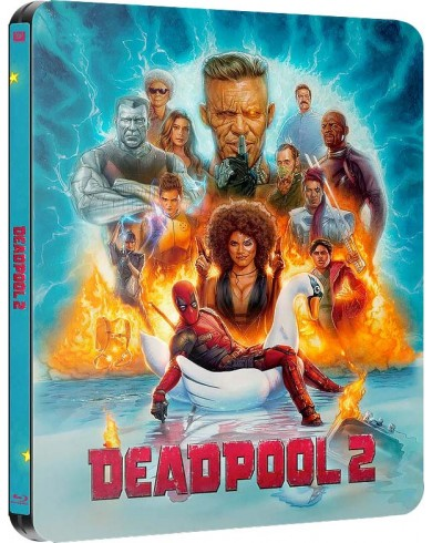 Дэдпул 2 Limited Steelbook  (2 Blu-ray)